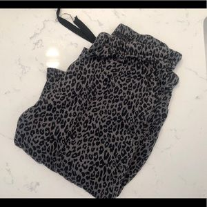 Leopard Pajama Pants from Target